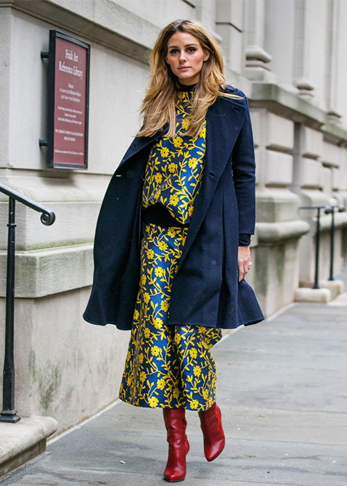 Olivia-Palermo-Outfits-Floral-Dress